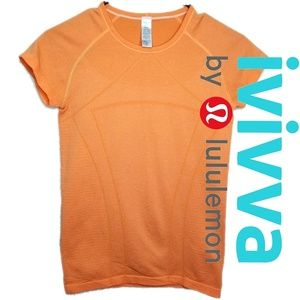 Ivivva Shirts & Tops - IVIVVA NWOT fly tech short sleeve orange size 14